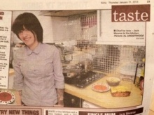 Jack Monroe. Echo/Gazette 31st Jan 2013. Photograph by AL UNDERWOOD.