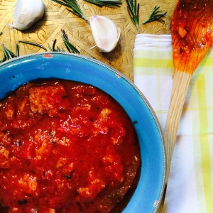 Pappa al Pomodoro, or in other words, Bread-Crust-And-Tomato-Soup...