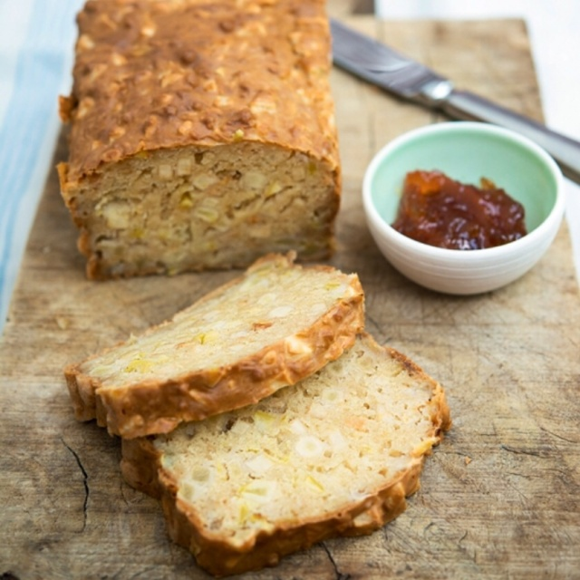 Bramley apple soda bread by Susan Bell for A Year In 120 Recipes.