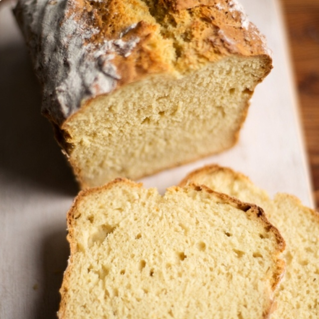 Easy peasy soda bread photograph by Susan Bell for A Girl Called Jack