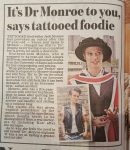 Dear Mr Farrington, The Mail believes oral sex and Pringles give you cancer. Maybe you shouldn't believe what they write about me either.